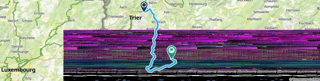 Trier Nord nach Kell am See