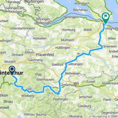 2019-07-06 Winterthur - Thurbenthal - Lommis - Weinfelden - Konstanz (Interaction)