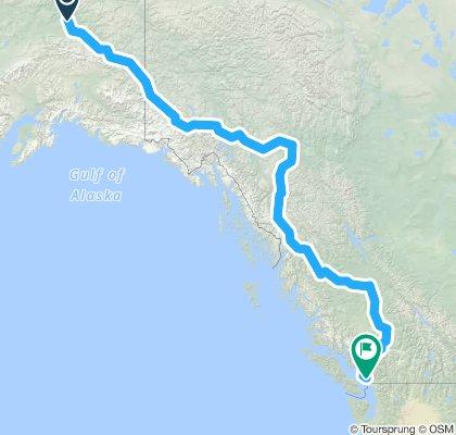 Fairbanks - Vancouver