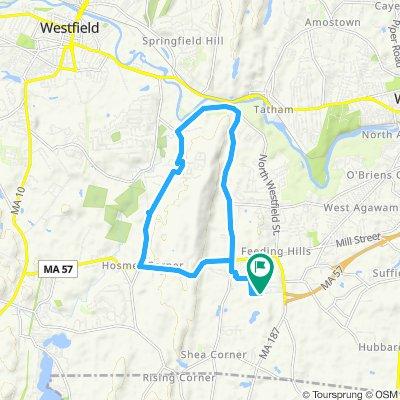 Moderate route in Agawam