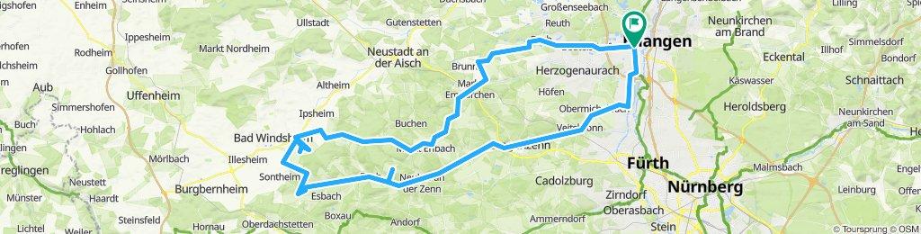 Erlangen nach Ickelheim