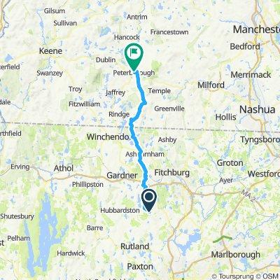 Princeton to Peterborough v2