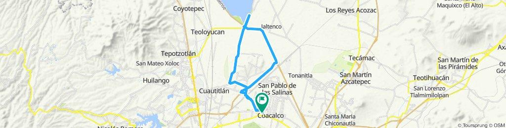 Ruta relajada Coacalco - Zumpango // Zumpango - Coacalco