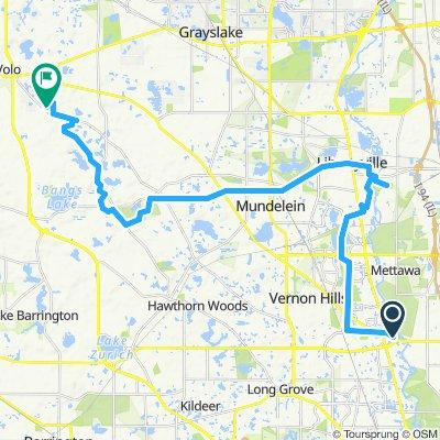 Bike route 1