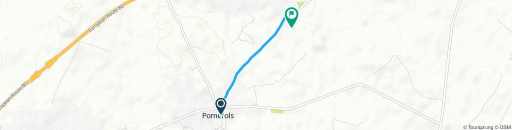 Steady ride in Marseillan