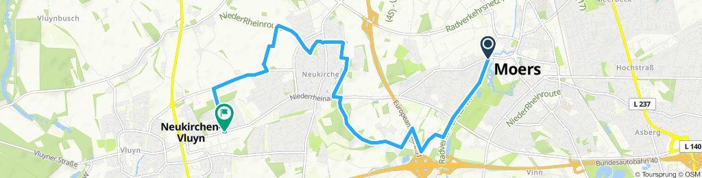 Radwandern Moers-Neukirchen