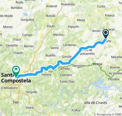 A13 - Boimorto - Santiago de Compostela