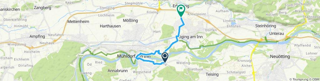 Einfache Fahrt in Mühldorf am Inn
