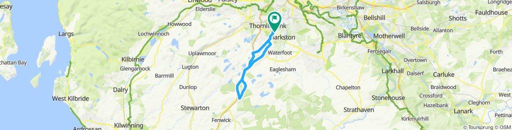 Giffnock A77 Mearnskirk A77 Giffnock