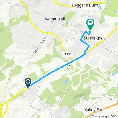 Slow ride in Windlesham