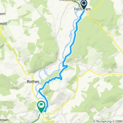 Fochabers to Craigellachie via Speyside Trail