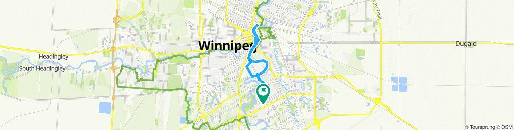 Steady ride in Winnipeg