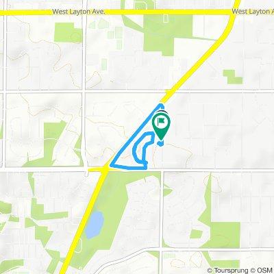 Snail-like route in Greendale