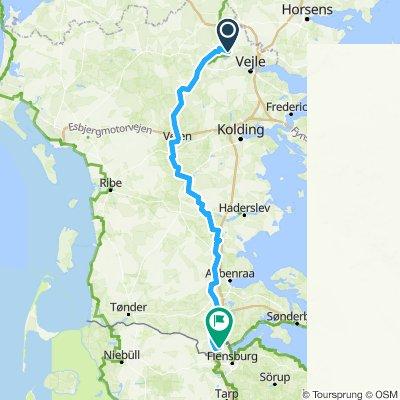 Stage 9. Jelling-Padborg