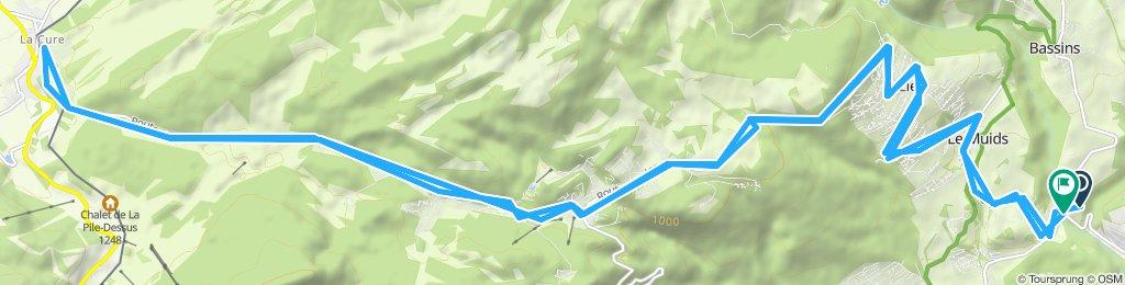 Itinéraire modéré en Begninsa