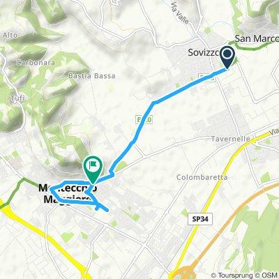 Moderate Route in Montecchio Maggiore