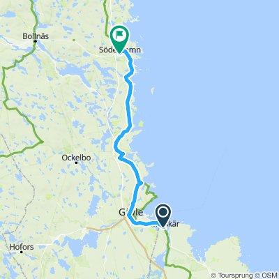 skutskâr to Söderhamn