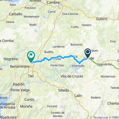 EuroVelo 3 - Part 20 - From Melide to Santiago de Compostela
