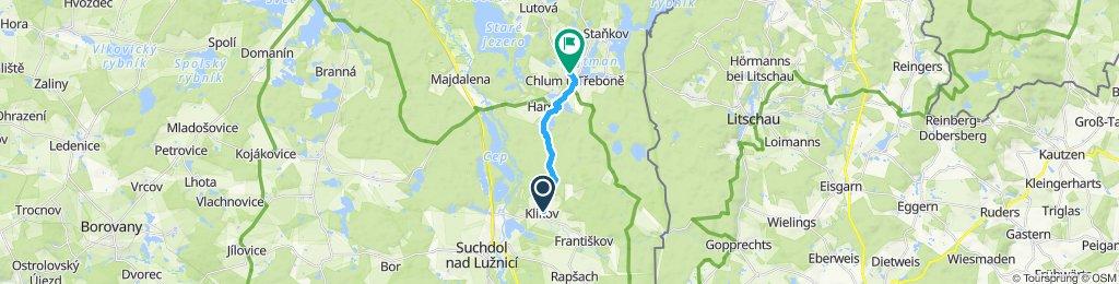 Jednoduchá jazda Chlum u Třeboněq