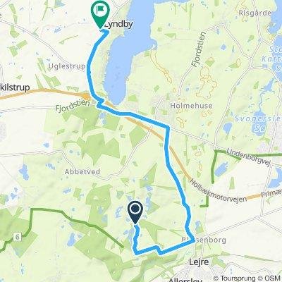 Slow ride in Kirke Hyllinge