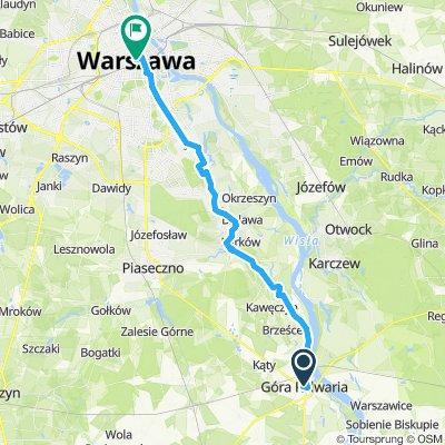 7 Gora Kalwaia nach Warschau