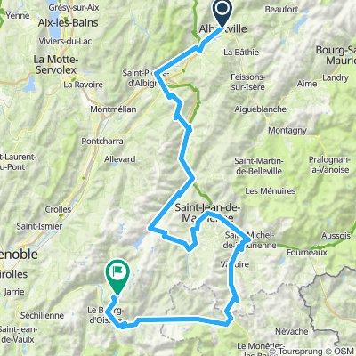 Currologa | Albertville-Pointe de L'Oullion-Galibier-Alpe D´Huez