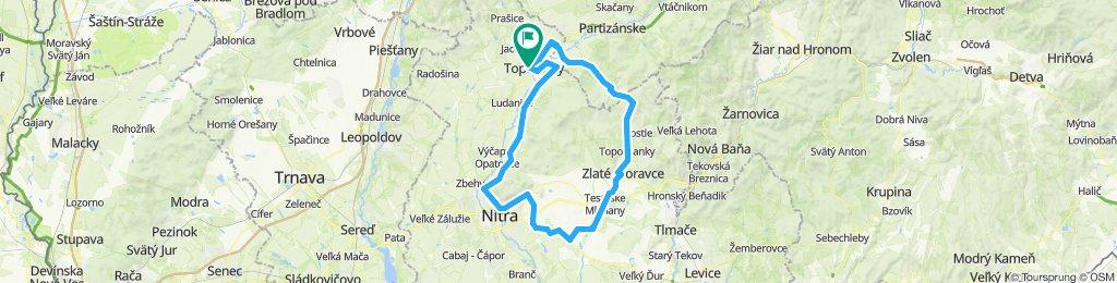 Zlaté Moravce - Nitra