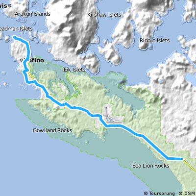 Day 001 - Across Canada Trails - Trekking Bike Route