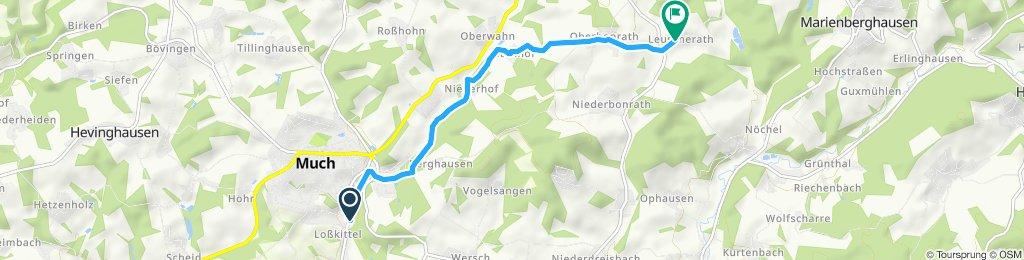 Route zum André