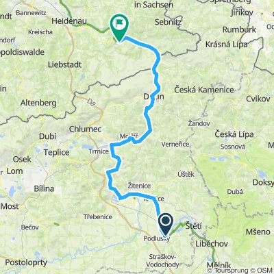 Elbe-Rw 04: Roudnice nad Labem - Königstein