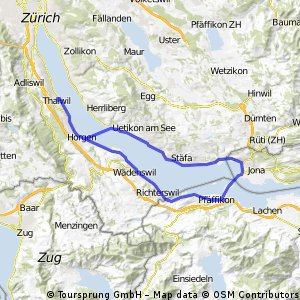 Thalwil - Rapperswil - Thalwil (Faehre)