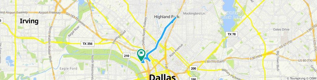 Easy ride in Dallas