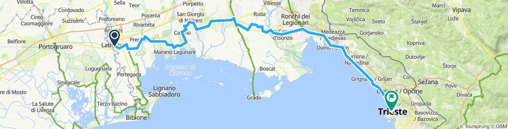 Latisana - Trieste