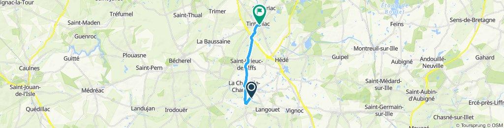 Slow ride in La Chapelle-Chaussée