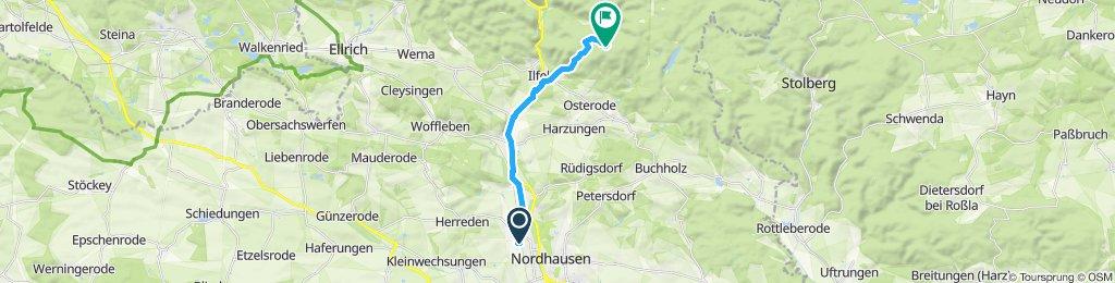 Frühlingsweg - Poppenberg/turm
