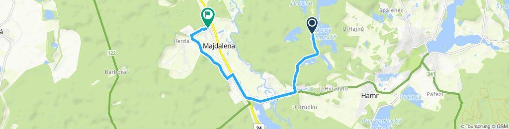 Stredná trasa Majdalena