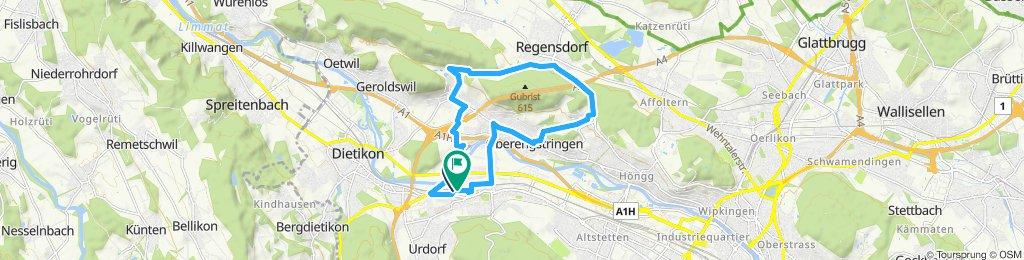 Easy ride in Schlieren