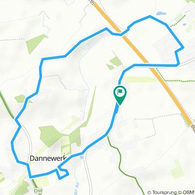 Gemütliche Route in Dannewerk