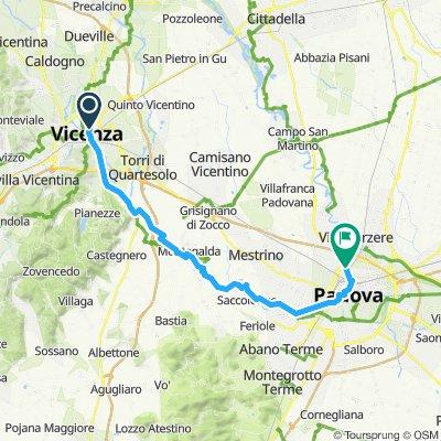 Day 5 Vicenza - Padova