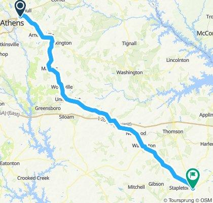 Athens (BI) to Savannah - Day 1 (Wrens)