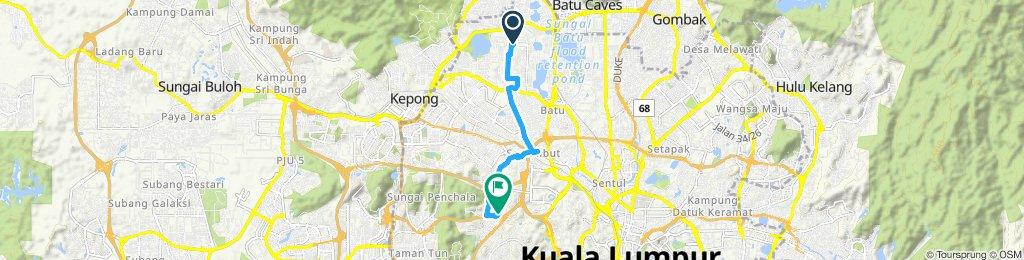 From Jinjang Utara to FF 1 Mont Kiara