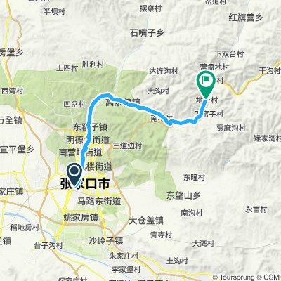 11. parte 2 Nord Zhangjakou - paesino nei monti
