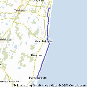 Neelankarai-Mahabalipuram