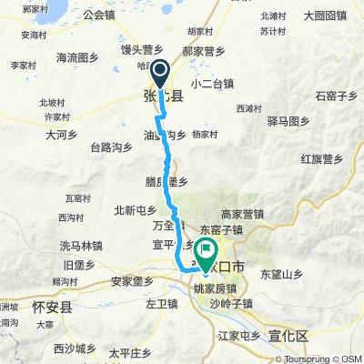 11. parte 1 Zhangbei - Zhangjakou