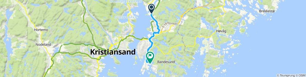 Easy ride in Kristiansand S