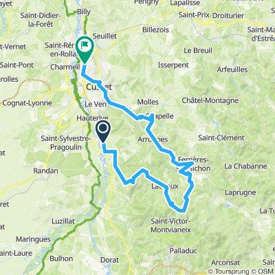 Saint-Yorre Radfahren
