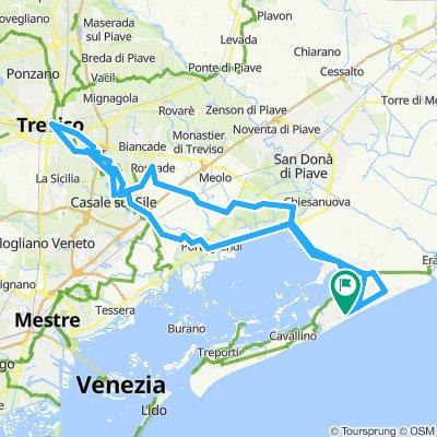 Lido Di Jesolo 40 Km Bikemap Your Bike Routes