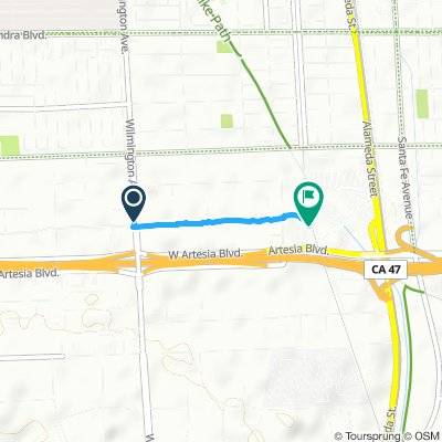 Cycling routes and bike maps in and around Compton | Bikemap - Your on los angeles map, chualar map, gardena map, forrest park map, auberry map, long beach map, tyndall map, grimaldi map, 1000 palms map, cutler map, cedar ridge map, hope ranch map, california map, downieville map, crenshaw map, burbank studios map, angels camp map, la trade tech map, la county map, inglewood map,