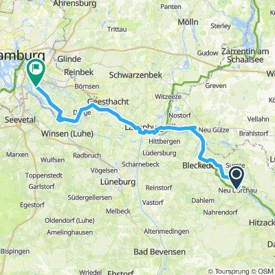 Elbe-Rw 11: Neu Darchau - Ochsenwerder