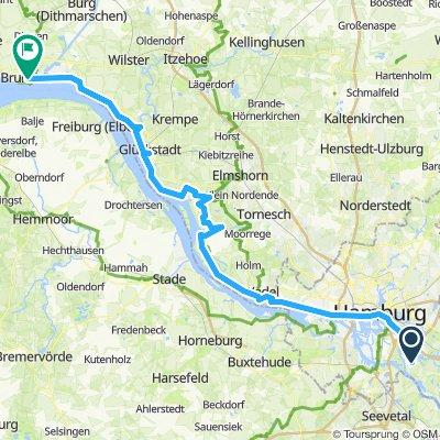 Elbe-Rw 12: Ochsenwerder - Brunsbüttel
